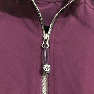 lululemon athletica Tops - Lululemon nice asana jacket size 4 burgundy